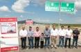 Inaugura Gobernador Rubén Moreira pavimentación de la carretera La Peña-Boquillas del Carmen.
