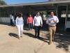 Supervisa Tobías sede del Bachillerato Tecnológico Militarizado en Piedras Negras