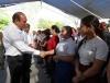 Encabeza Gobernador Rubén Moreira entrega del camino Callejón del Remolino en Piedras Negras