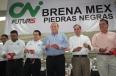 En Piedras Negras, el Gobernador Rubén Moreira inauguró la empresa Brena Mex que generará mil 600 nuevas fuentes laborales