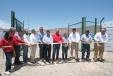 Inauguración de granja solar y red eléctrica en Boquillas del Carmen