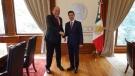 Se reúne Rubén Moreira con el Presidente Enrique Peña en Los Pinos