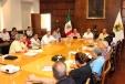 Mantiene Rubén Moreira Valdez diálogo con maestros de la Sección 38