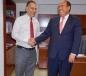 Se reúne Gobernador Rubén Moreira con el titular de la Comisión Ejecutiva de Atención a Víctimas, Jaime Rochin
