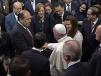 Saluda Gobernador Rubén Moreira al Papa Francisco en Palacio Nacional
