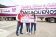 Llegan a Oaxaca 70 toneladas de ayuda coahuilense de sociedad y gobierno