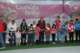 Inaugura Gobernador Rubén Moreira pista de hielo gratuita en San Juan de Sabinas