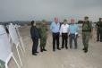 Supervisa Gobernador Rubén Moreira avances del Mega Cuartel en San Pedro
