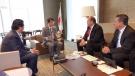 En la Ciudad de México, el Gobernador Rubén Moreira Valdez se reunió con el Embajador de Japón en México, Akira Yamada.