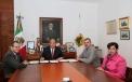 Firma Gobernador Rubén Moreira decretos y nombra Director del Hospital Materno Infantil