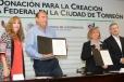 Dona Torreón terreno para la instalación del Centro de Justicia Federal