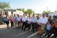 El Gobernador Rubén Moreira encabezó la inauguración de las obras de pavimentación realizadas en vialidades de la Colonia Pemex en Frontera