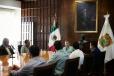 Se reúne Gobernador Miquel Riquelme con representantes empresariales