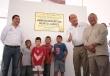 El Gobernador Rubén Moreira Valdez develó la placa inaugural de la  Unidad Deportiva
