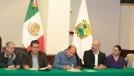Firman histórico acuerdo Estado, empresarios y alcaldes