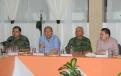Sostienen reunión de seguridad el Gobernador de Coahuila, Rubén Moreira y el Gobernador de Durango, José Rosa Aispuro.