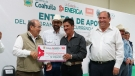 Continúa el apoyo al campo de Coahuila