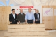 Da bienvenida Gobernador Rubén Moreira a Parque Eólico; colocan primera piedra