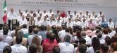 El Gobernador Rubén Moreira, junto a Mikel Arriola Peñaloza, anunció la construcción del Hospital General de Zona del IMSS en Acuña