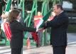 """Preside Gobernador Rubén Moreira ceremonia de Abanderamiento """"Sembrando Banderas"""""""
