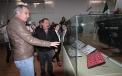 El Secretario de Gobierno, Víctor Zamora, recibió del Delegado del INAH, Francisco Aguilar , 976 piezas arqueológicas pertenecientes a Cuatro Ciénegas