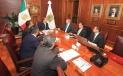 El Gobernador Rubén Moreira y el Cónsul General de Estados Unidos en Monterrey, Timothy Zúñiga-Brown, trataron temas comunes y establecieron acuerdos