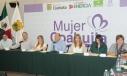 El Gobernador Rubén Moreira encabezó la Décima Sesión Ordinaria del Consejo del Sistema Estatal de Acceso a las Mujeres a una Vida Libre de Violencia.