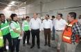 Supervisa Gobernador Rubén Moreria avances  en la instalación, construcción y funcionamiento de la empresa Mando Corporation en Artega.