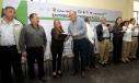El Gobernador Rubén Moreira entregó certificados de primaria, secundaria, y constancias de alfabetización a trabajadores del estado