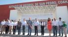 Inaugura Rubén Moreira rehabilitación del Parque de Béisbol de San Pedro