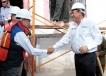 """El Gobernador Rubén Moreira Valdez dio inicio a los trabajos del """"Programa Vivienda Digna"""" en el ejido Carneros del municipio de Saltillo"""