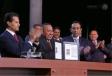 Participó Gobernador Rubén Moreira con Presidente en acto de entrada en vigor del NSJP