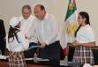 El Gobernador Rubén Moreira y el Presidente de BBVA Bancomer entregaron apoyos del Programa de Becas de Integración y Adelante