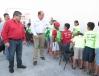 El Gobernador Rubén Moreira realizó un recorrido y supervisó el funcionamiento del Centro Cultural y Deportivo