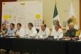 Encabezan Gobierno Estatal y Protección Civil Nacional reunión de evaluación de daños