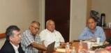 Se reúne Gobernador Rubén Moreria con Alcalde de Zaragoza