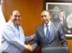 El Gobernador Rubén Moreira Valdez se reunió con José Reyes Baeza, Director General del ISSSTE
