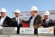Encabeza Gobernador Rubén Moreira colocación de la primera piedra de la empresa Amvian