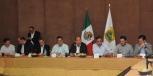Se reúne Gobernador Rubén Moreira con empresarios de la Región Sureste