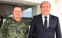Recibe Gobernador Rubén Moreira a nuevo mando de la Sexta Zona Militar