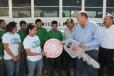 Refrenda Rubén Moreira su compromiso con la juventud estudiantil