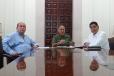 Se reúnen Gobernador de Coahuila, Durango y General Sergio Martínez Castuera