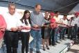 Inaugura Rubén Moreira obra de pavimentación en el ejido Santo Tomás de Matamoros
