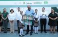 Entrega Gobernador Rubén Moreira útiles escolares en Piedras Negras