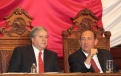 Sostiene Rubén Moreira diálogo respetuoso con las y los diputados de la LX Legislatura