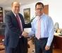 Se reúne Gobernador Rubén Moreira con Roberto Campa Cifrián