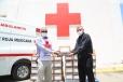 Suma DIF Coahuila voluntades: dona farmacéutica suero rehidratante