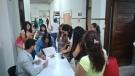Sustentantes presentan examen de oposición para ingreso al SPD en Educación Básica