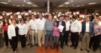 El Gobernador Rubén Moreira y el titular del INEA, Mauricio López, entregaron más de 200 Certificados a mujeres que terminaron su Educación Básica.