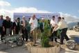 Encabeza Gobernador Rubén Moreira colocación de la primera piedra de la Planta Dendron-Aluminum, en Derramadero.